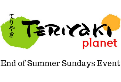 Teriyaki Planet Dining Out Event