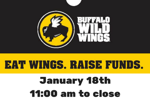 01/18 – Dine Out at Buffalo Wild Wings!
