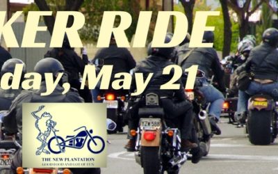 Date TBA – The New Plantation's 19th Annual Benefit Ride!