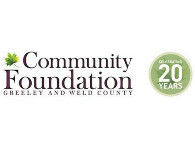 Community Foundation- 20th Anniversary Logo