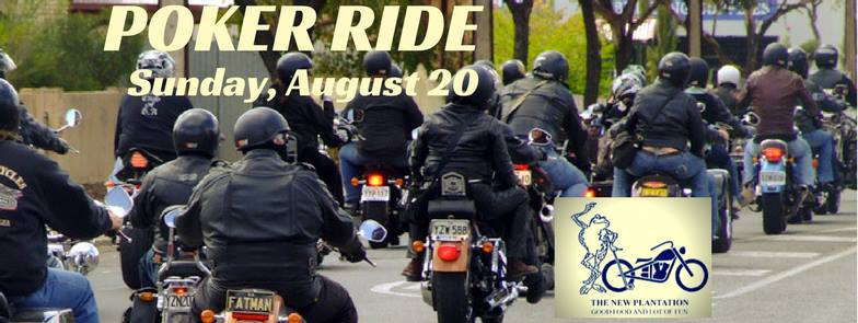08/20 – The New Plantation's 19th Annual Benefit Ride!