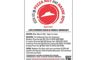 03/15 – Dine Out at Pizza Hut in Greeley, Windsor, Firestone, or Fort Lupton!