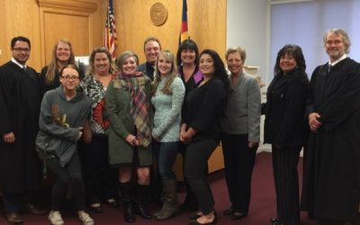 New Class of CASA volunteers sworn in